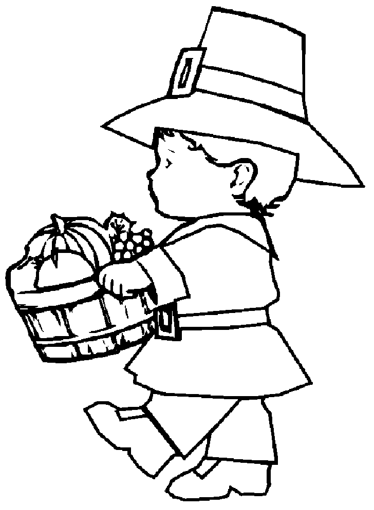 Pilgrims coloring pages | Free Printable Pictures | 994x728