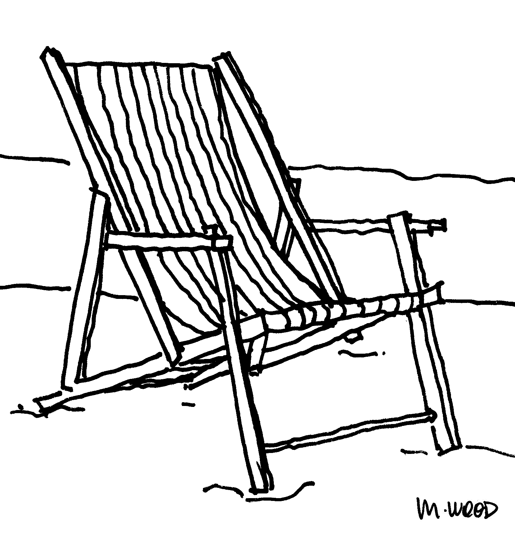Wood Beach Chair Plans plans for wood furniture Building PDF Plans ...