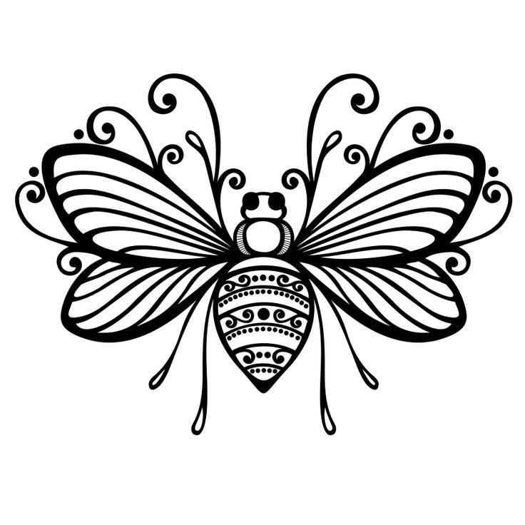 Queen Bee Clip Art - C...