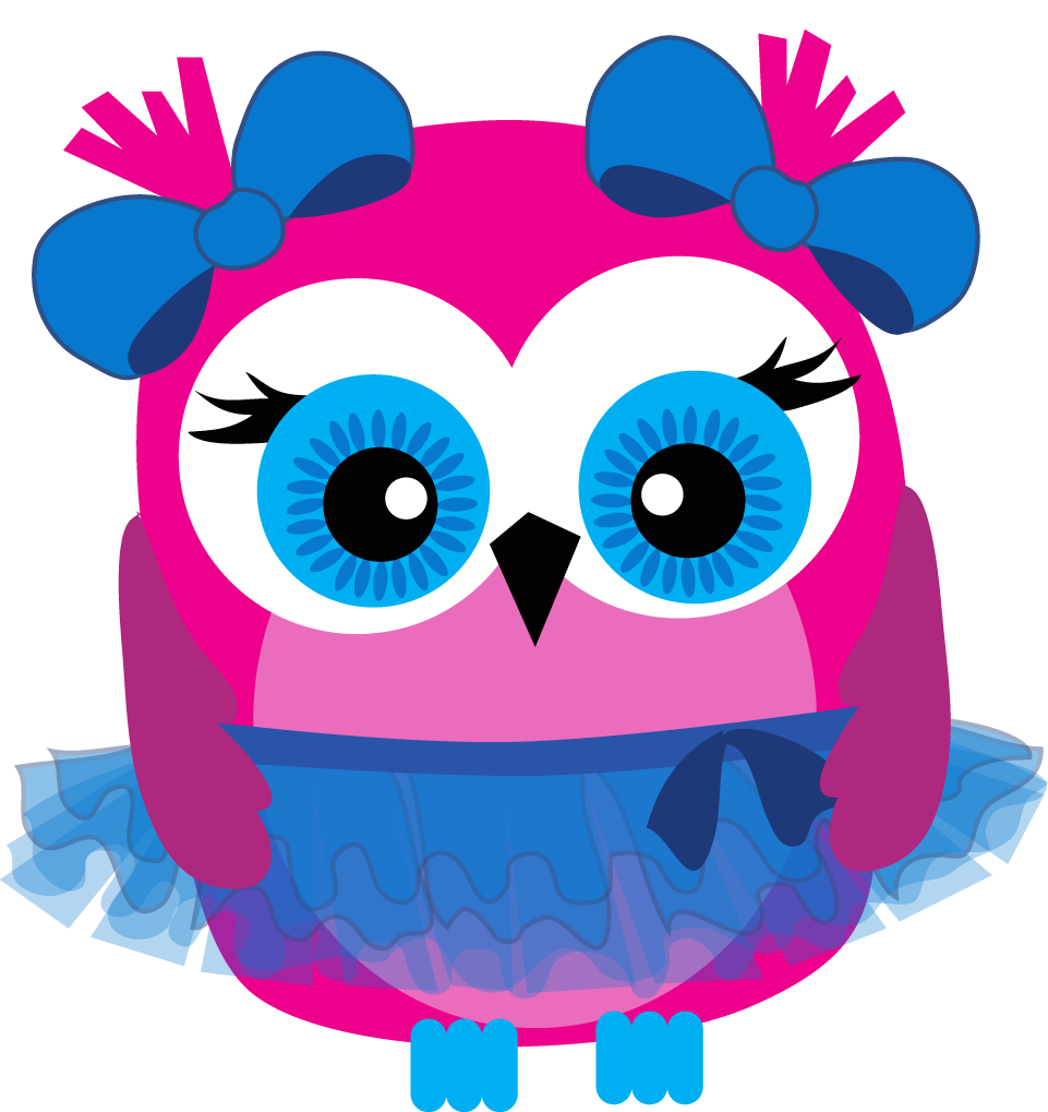 Photo Gallery Of Pink And Blue Owl Clip Art