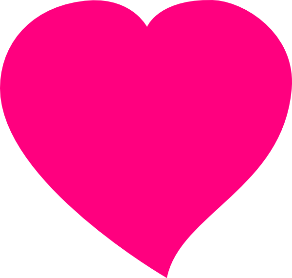 Pink - Heart clip art - vector clip art online, royalty free ...: cliparts.co/pink-heart-image