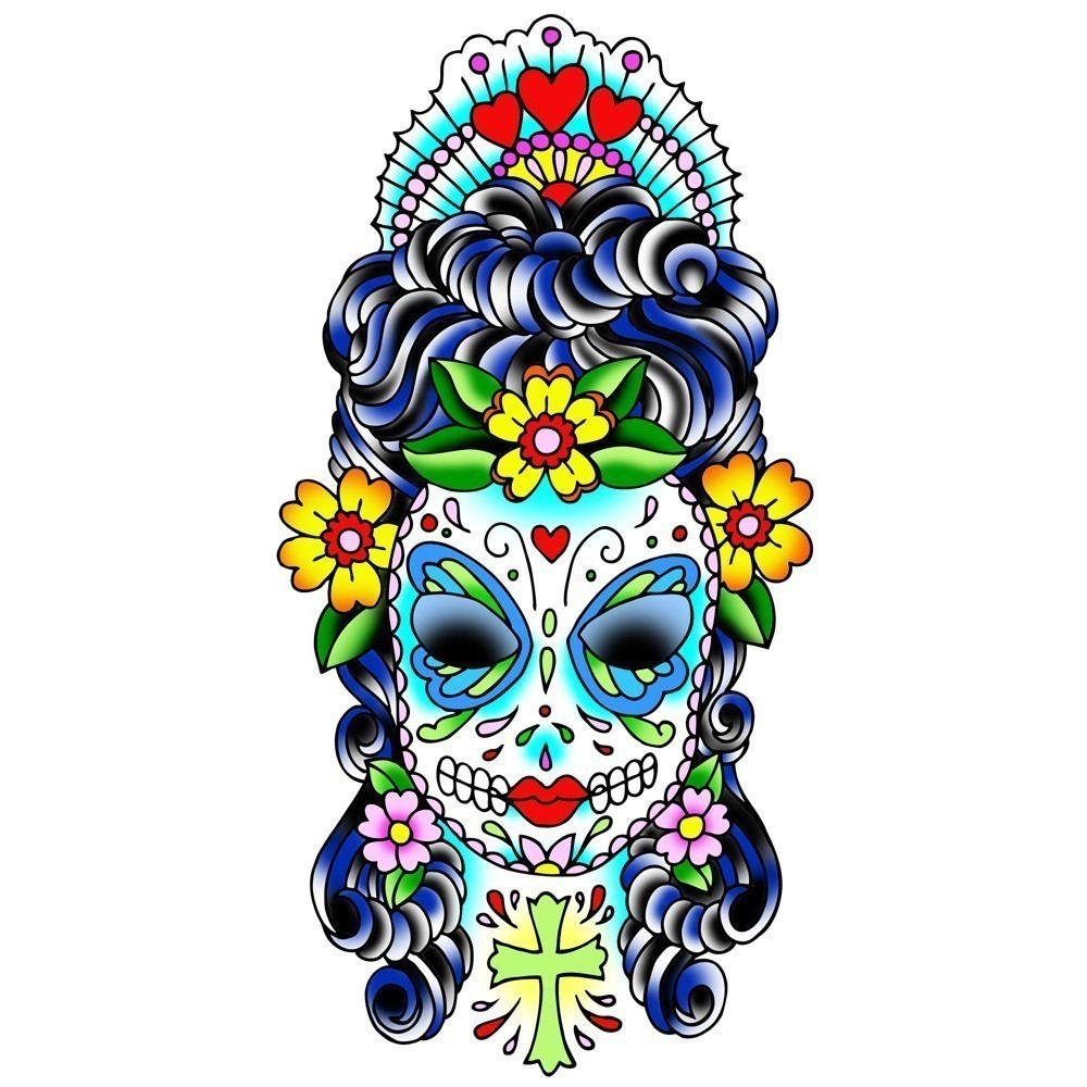 Sugar Skull Clip Art - Cliparts.co