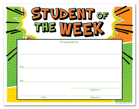 Star Student Certificate Template U2013 Free Star Awards (+61 .
