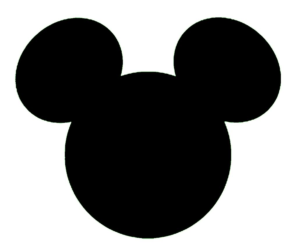 Mickey Mouse Head Template - Cliparts.co