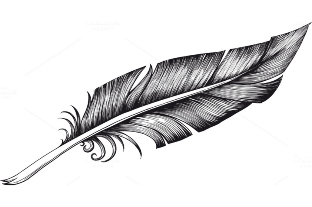 Feather Pen Clip Art - Cliparts.co