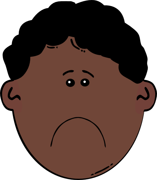Sad Face Cartoon Images - Cliparts.co