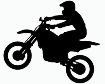 Dirt Bike Clipart Black And White Popular items for are dirt on