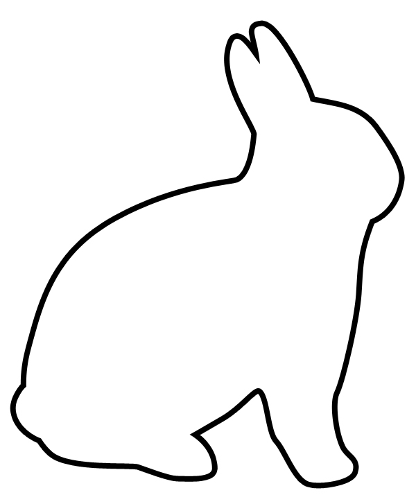 Easter Clip Art Free Black And White