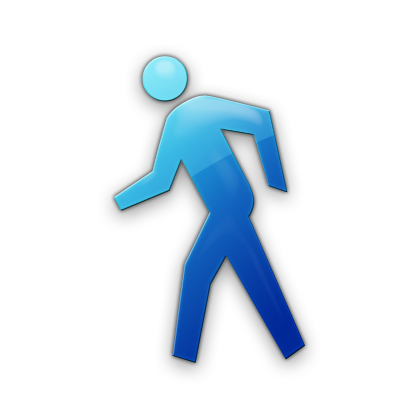 Person Walking Icon #061157 » Icons Etc