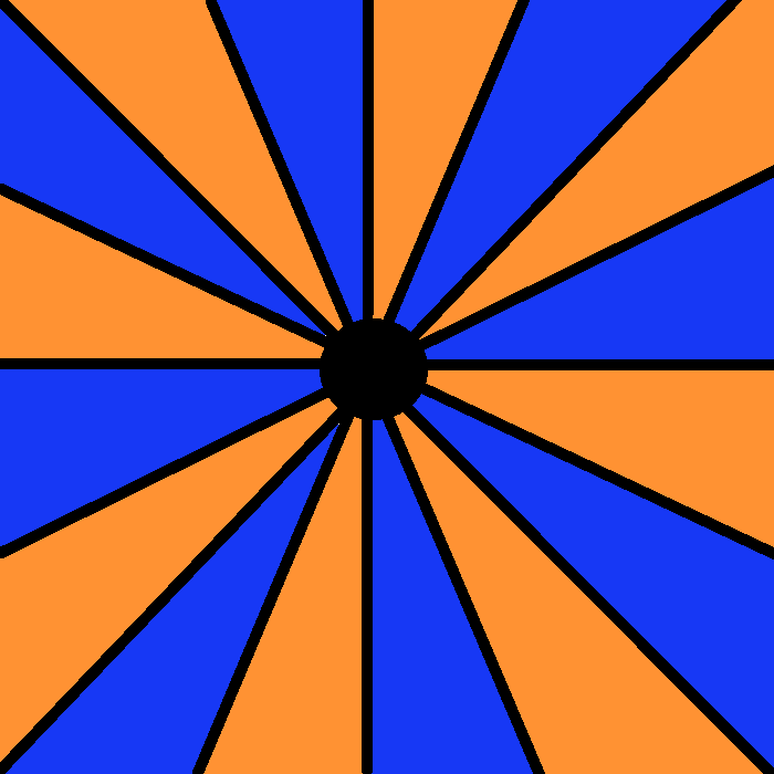 Circus Tent Optical Illusion by hpfan6894 on deviantART