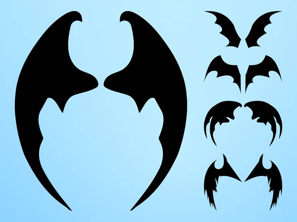 cartoon bat wings cliparts co wing vector image wind vectors in matlab