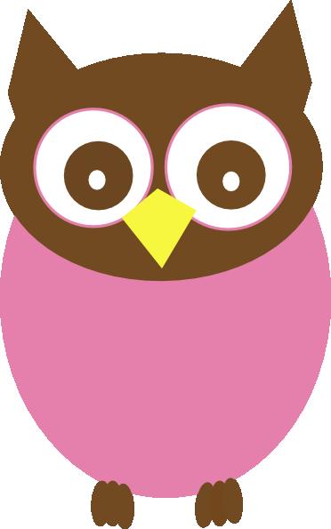 Owl Clip Art Pink - ClipArt Best