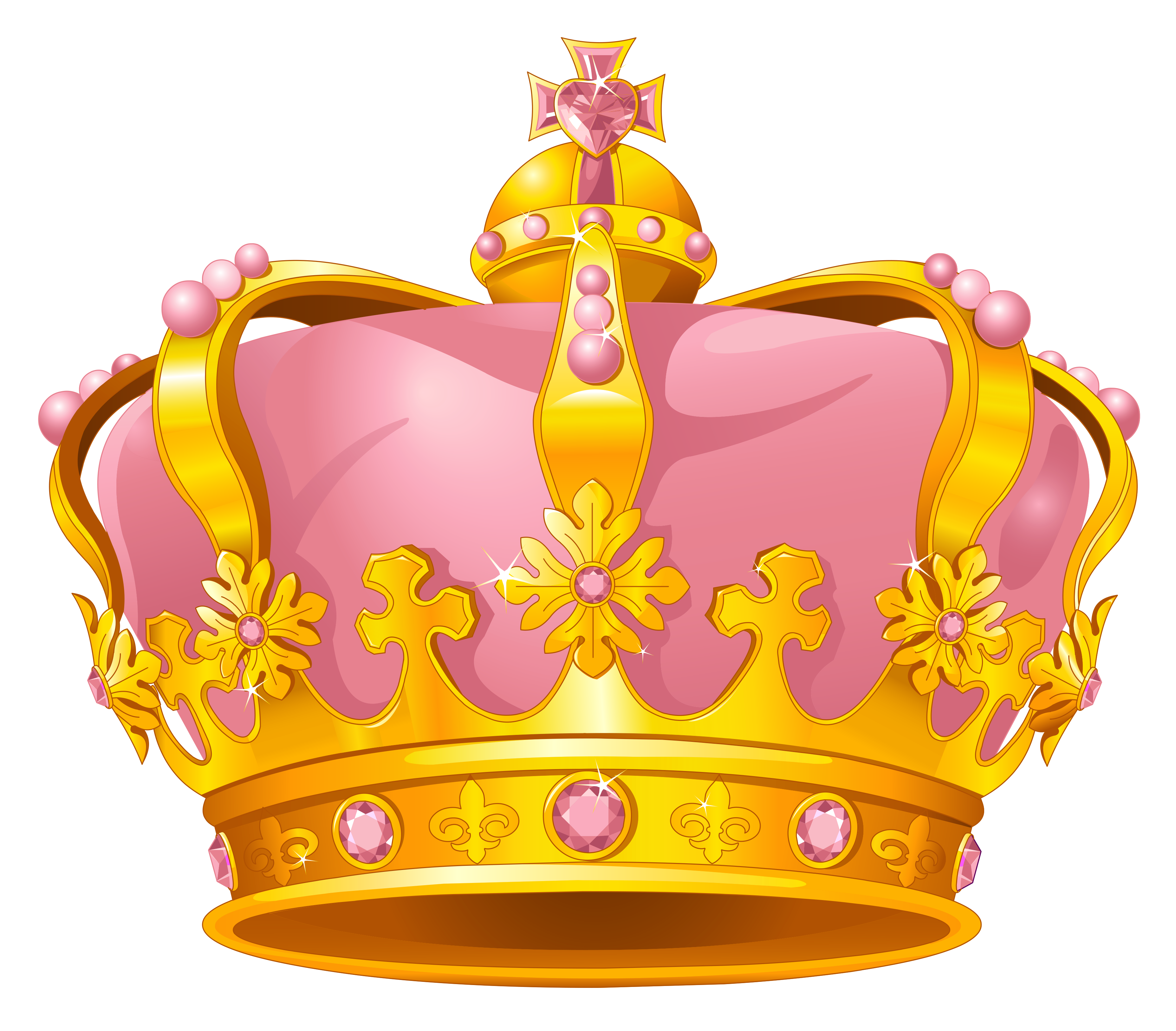 Pink crown clipart - photo#21