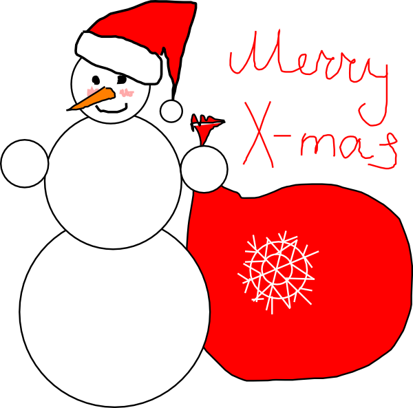 Merry Christmas Clip Art Words - Cliparts.co