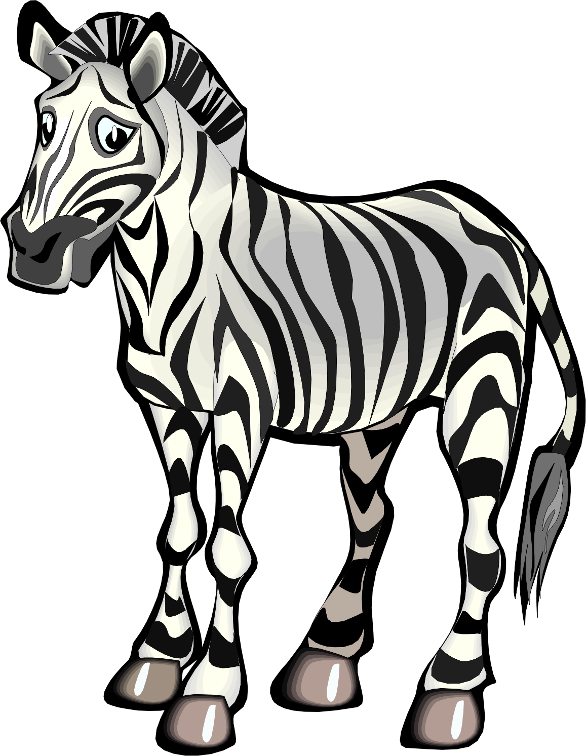 The Gallery For Gt Cute Drawings Of Zebras
