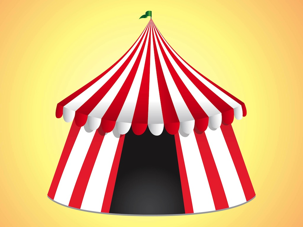 Circus tent clip art Drawing images free download