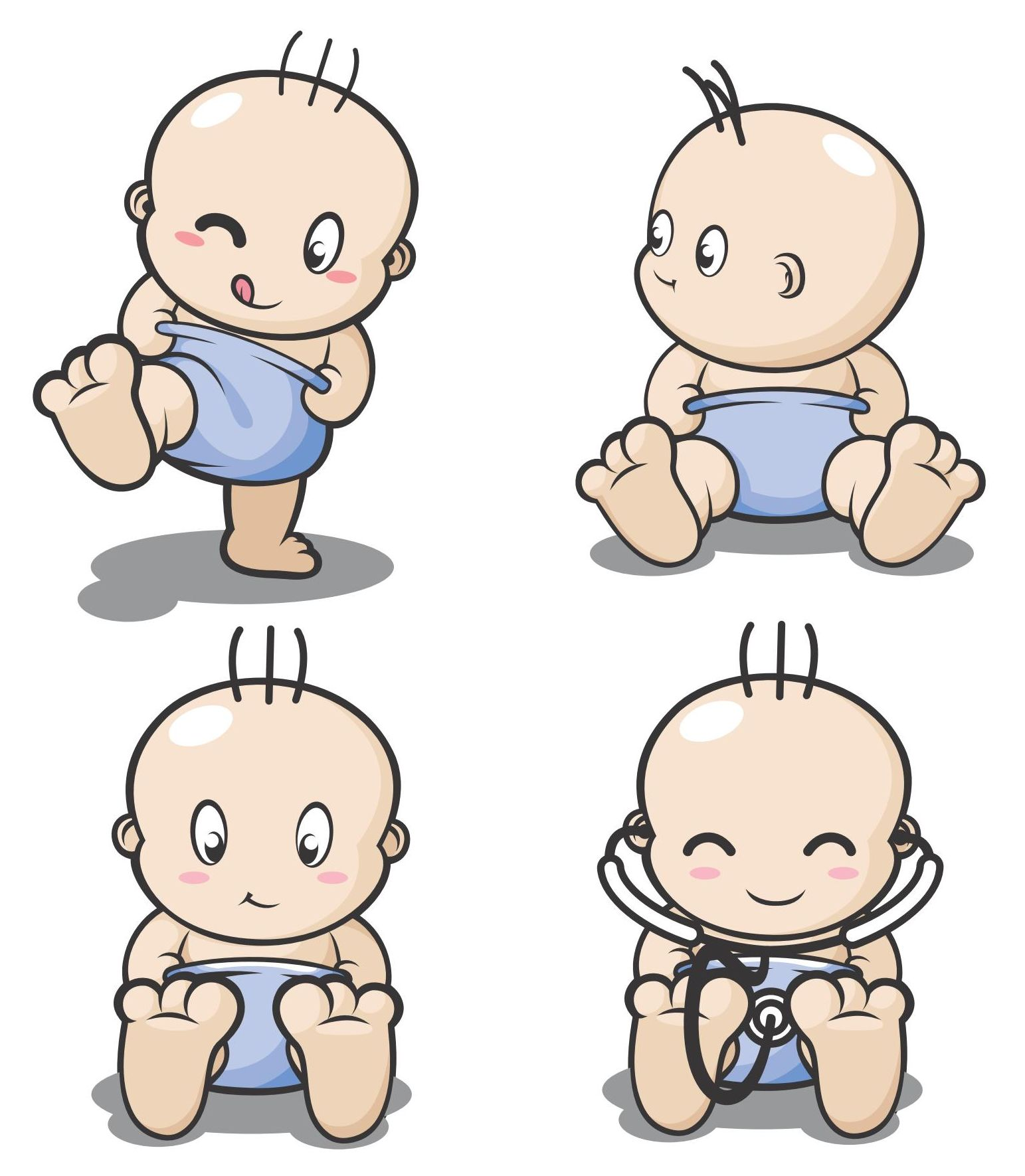 Cartoon Baby, Children, Kids Vector EPS Free Download, Logo, Icons ...: cliparts.co/cartoon-baby-pic