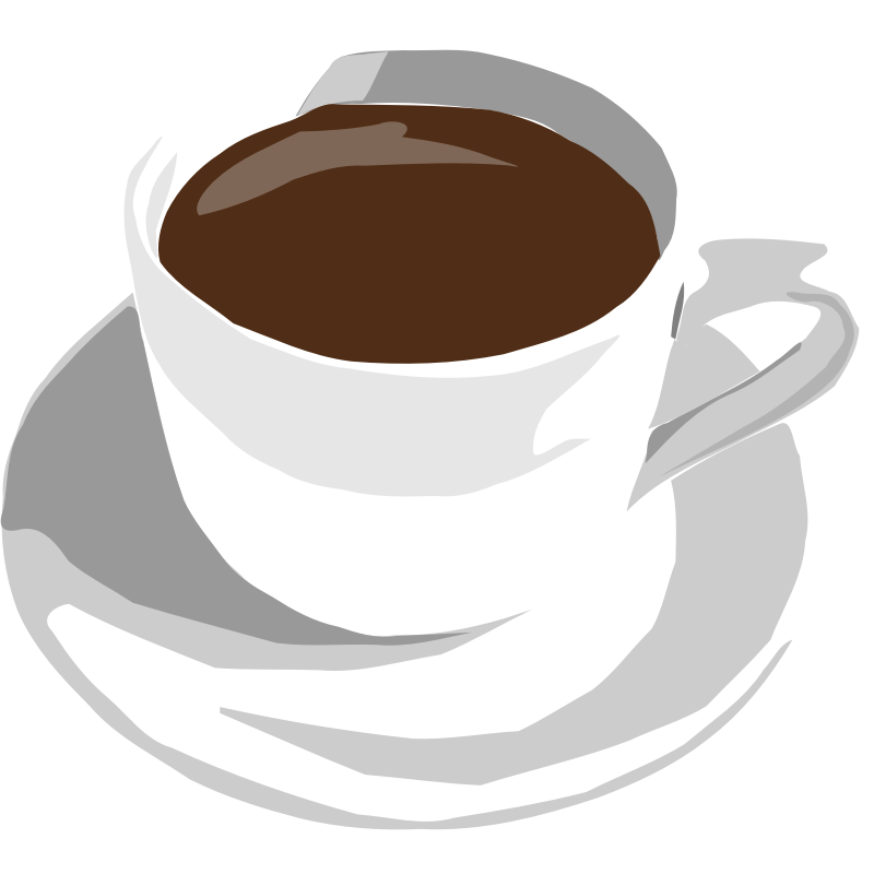 Picture Of A Cup Of Coffee - Cliparts.co