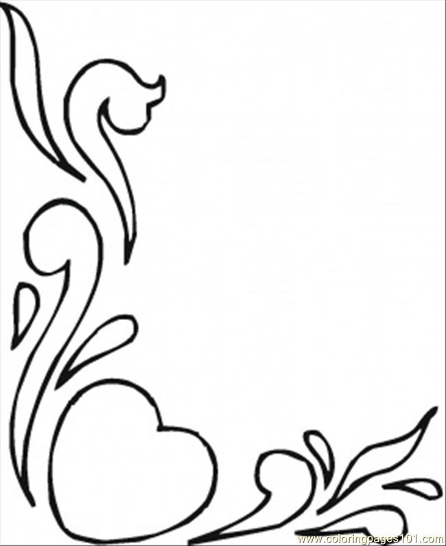 Pencil Drawings Of Hearts And Roses Cliparts Co Coloring Pages Flowers And Hearts