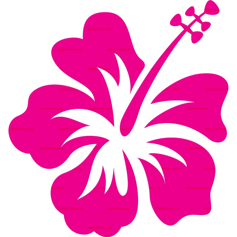 Hawaiian Flowers Black And White Utama - ClipArt Best - ClipArt Best