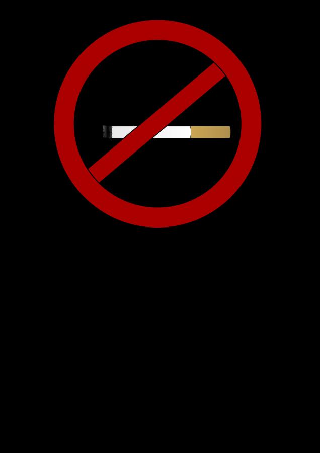 Free Vector No Smoking Clip Art
