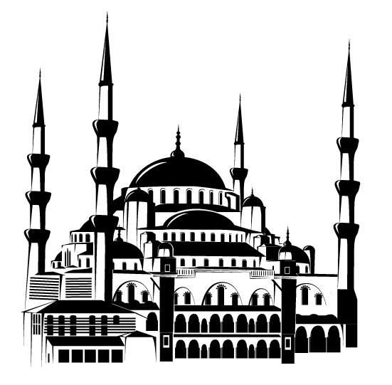 93 Gambar Gambar Masjid Warna Hitam Paling Keren