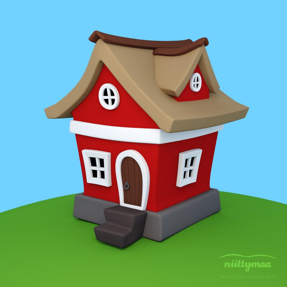 House cartoon House creator 3d