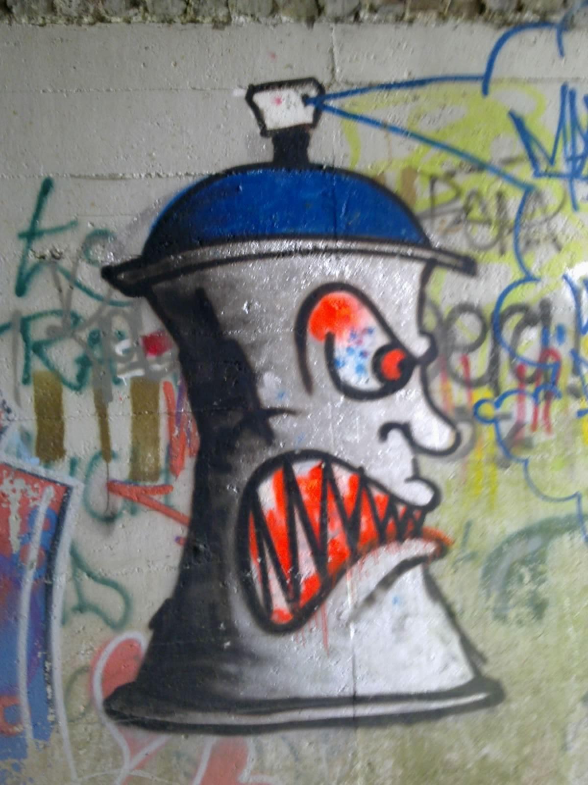 Spray Can Graffiti - Cliparts.co