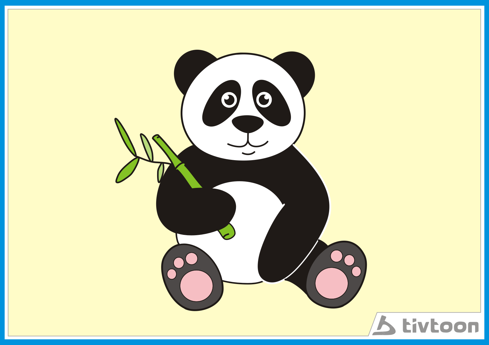 Gambar Kartun Panda Cliparts