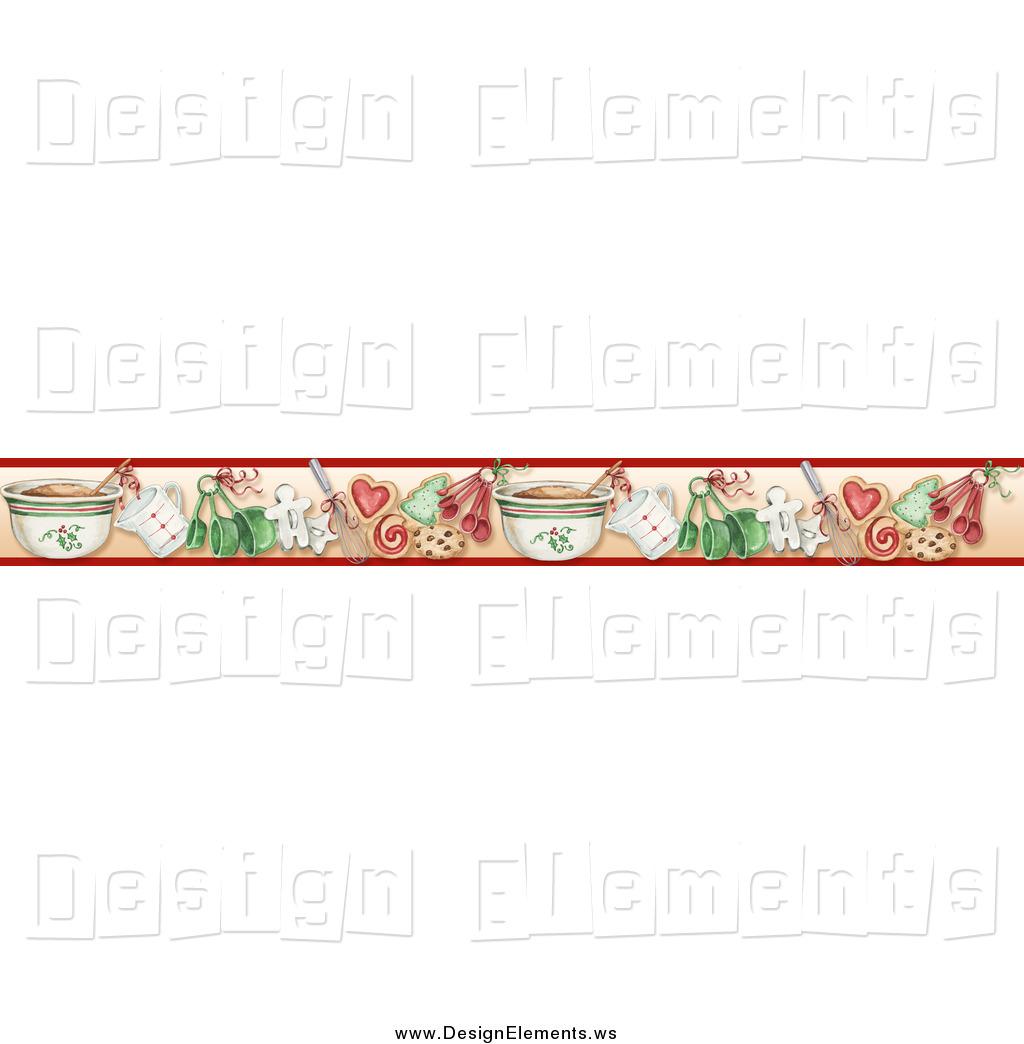 free christmas cookie borders clip art - photo #14