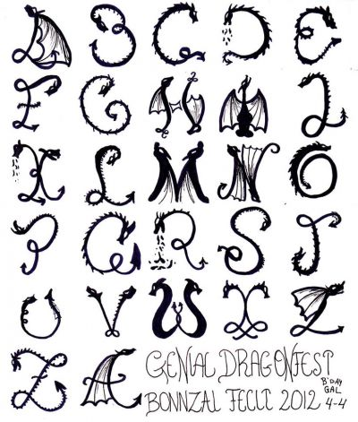 Cool Letter Alphabet | Coloring Pages