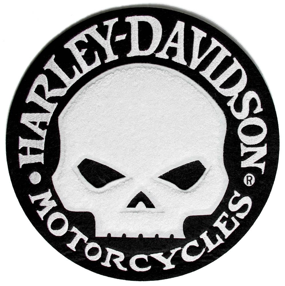 Logo Skull Harley Davidson