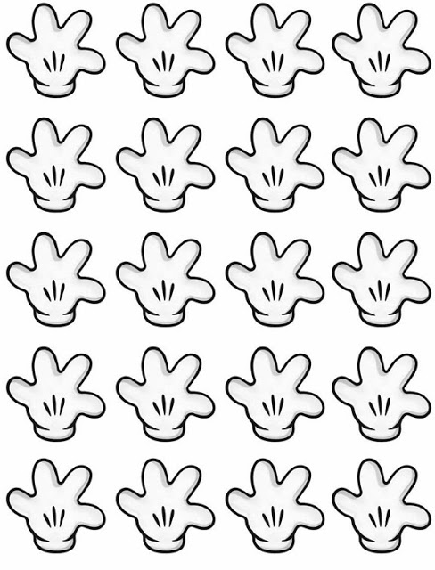 Free printable mickey mouse gloves number 2 cliparts mickey mouse hands or gloves templates oh my fiesta in english pronofoot35fo Gallery