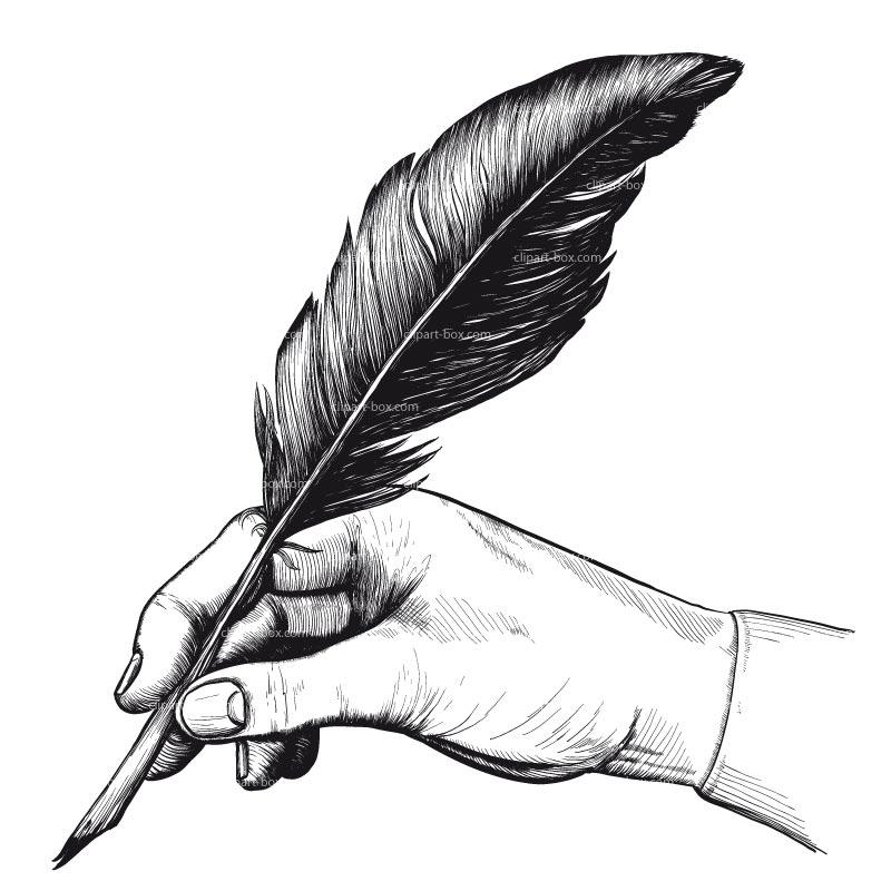 Feather Pen Clip Art - Cliparts.co