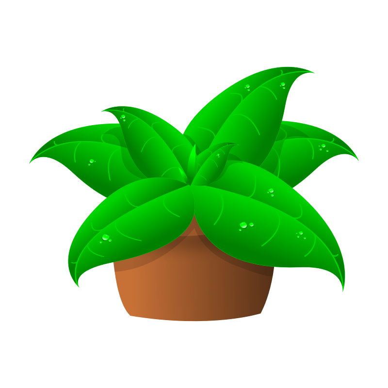 plants to use free clip art