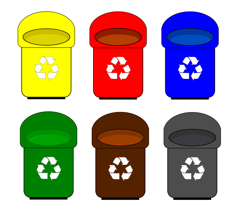 Recycle Clip Art Bottles