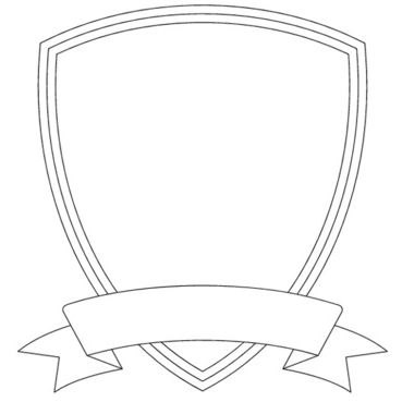 Coat Of Arms Template With Banner - ClipArt Best