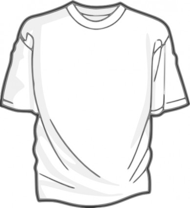 Digitalink Blank T Shirt clip art Free vector in Open office ...