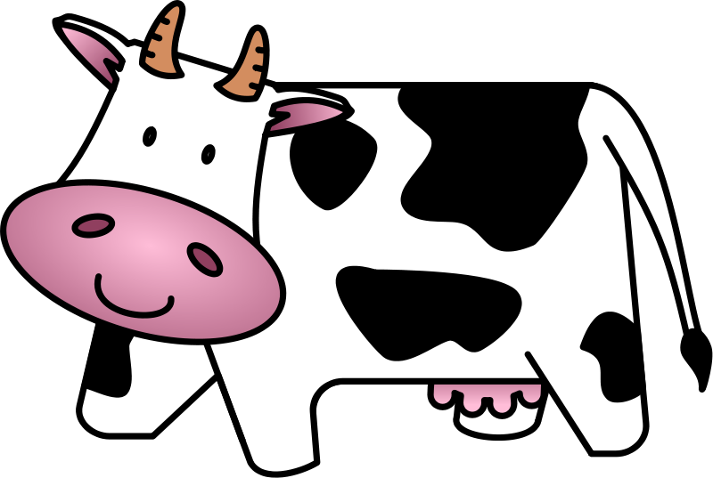 Dairy Cow Clip Art - Cliparts.co