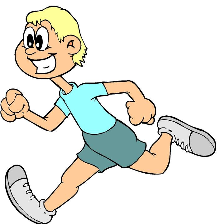Cartoon Pictures Of Runners