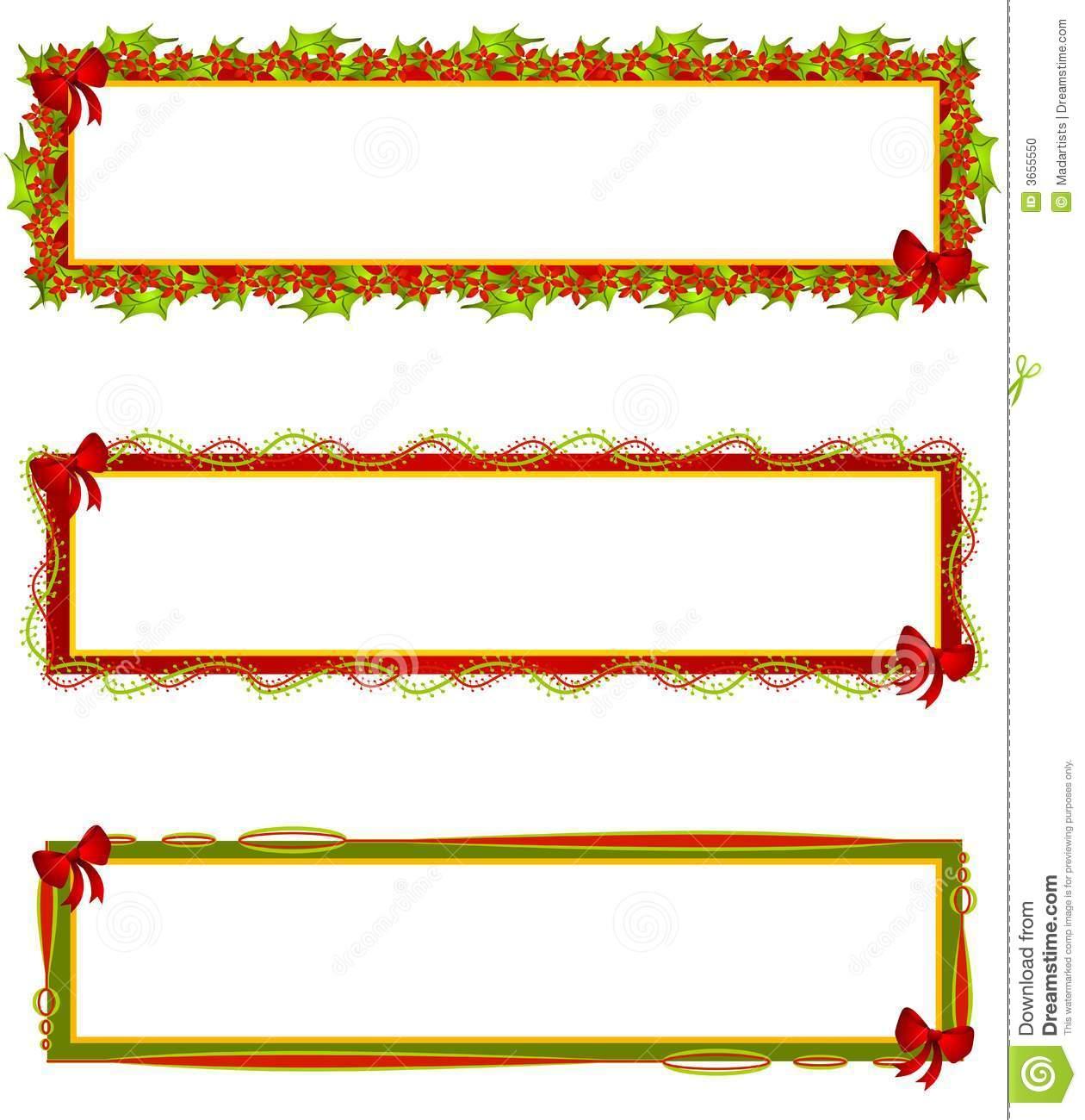 Christmas Ribbon Clip Art - Cliparts.co