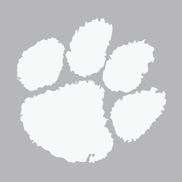 Clemson paw free coloring pages for Tiger paw template