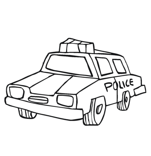 Free Car Coloring Pages | 518x500
