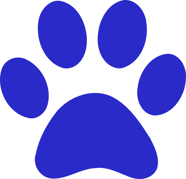 bobcat paw cliparts co Jaguar Paw Print Clip Art Bobcat Paw Print Borders