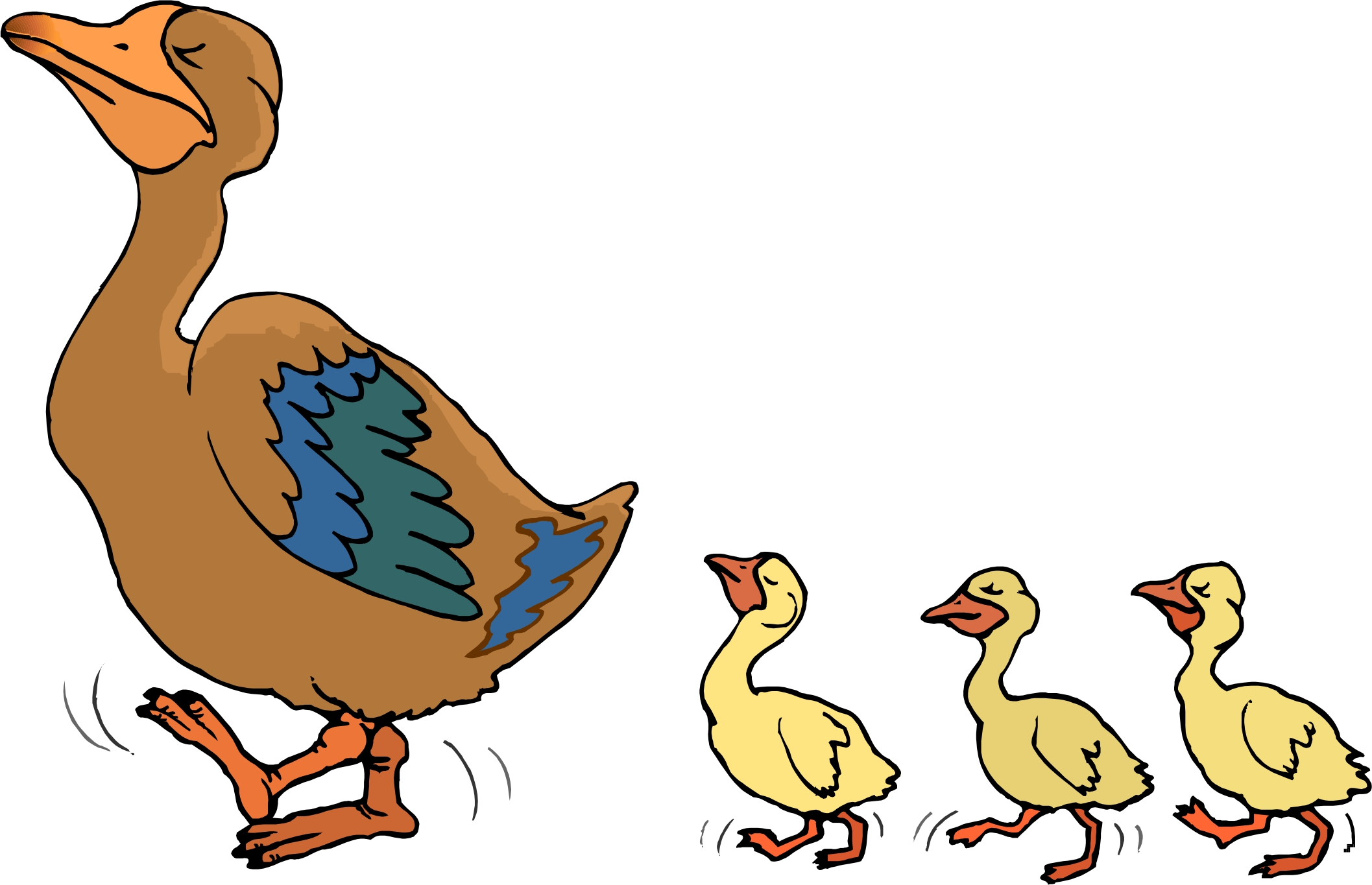 Duck Cartoon Images - Cliparts.co