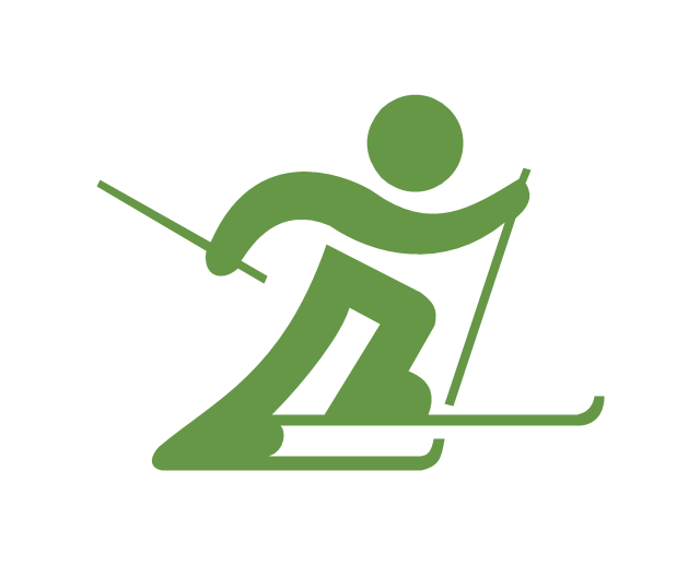 Freestyle skiing - Winter sports pictograms | Alpine skiing ...
