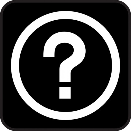 Question Clip Art Black And White Clip Art Free Questions
