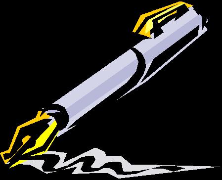 Pen Writing Clip Art | Clipart Panda - Free Clipart Images