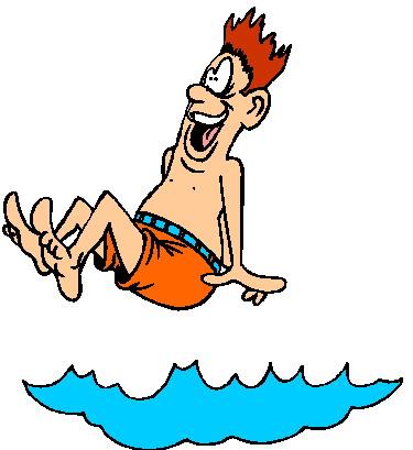 Animated swimming gif