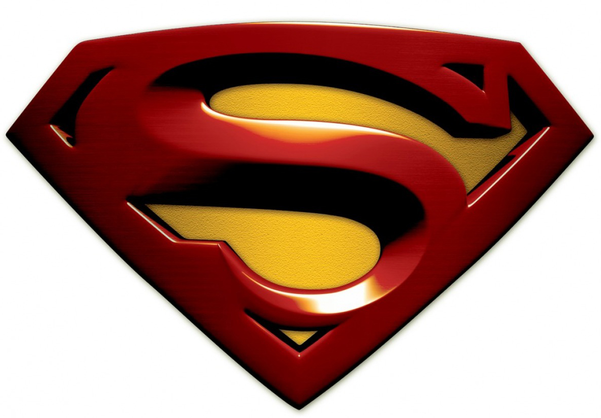 Superman Logo Outline - Cliparts.co